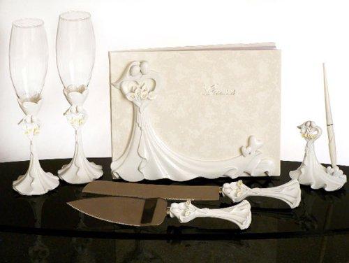 Bride and Groom Calla Lilies Set