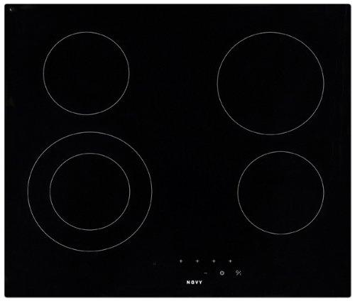 Novy Ozone Kochfeld (integriert, elektrisch, Keramik, Sensor, vorne, 6400 W, Schwarz