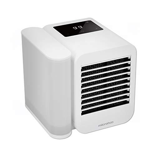 Dreame Aircooler - Ventilador de aire acondicionado para escritorio, pequeño enfriador de aire personal USB, humidificador, refrigeración con mango portátil para Home Room Office