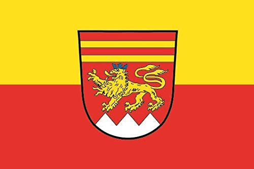 U24 Fahne Flagge Krombach Bootsflagge Premiumqualität 20 x 30 cm