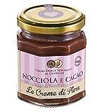 Le Creme di Piera Crema dulce para untar con sabor a avellana y cacao - 1 x 220 Gramos