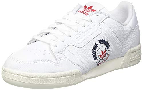 adidas Continental 80, Sneaker Hombre, Footwear White/Footwear White/Off White, 42 EU