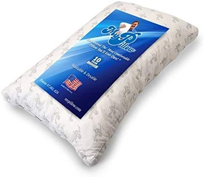 Classic Bed Pillow [Standard/Queen], Cut Memory Foam Fill