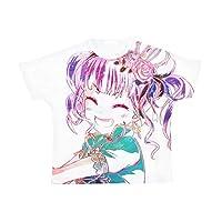 BanG Dream! ガールズバンドパーティ! 宇田川あこ Roselia Ani-Art フルグラフィックTシャツ ユニセックス XLサイズ