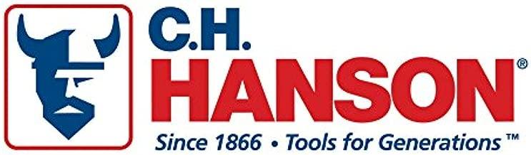Palmgren 9629226 Regular Duty Extra Deep Throat Black Oxide Spindles C-Clamp 0-6 0-6 CH Hanson