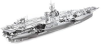 Fascinations Metal Earth ICONX USS Theodore Roosevelt CVN-71 3D Metal Model Kit
