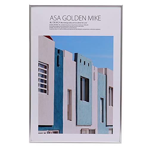 Photo Frame WRJ@ Bilderrahmen 21x30 cm A4 Modern aus MDF mit Acrylglas/Portraitrahmen/Wechselrahmen