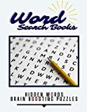 Word Search Books Hidden Words Brain Boosting Puzzles: 101 Ways To...