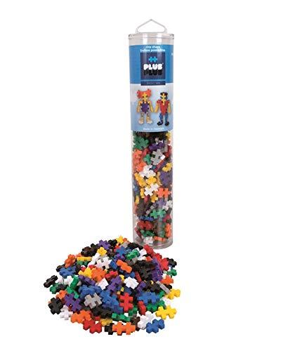 Plus-Plus 300.4185 - Tubo Base (240 Pezzi), Multicolore