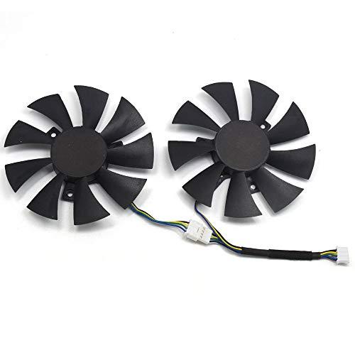 inRobert GA91S2H - Ventilador de Repuesto para Tarjeta de vídeo ZOTAC GTX 1070 Mini (Distancia del Agujero de Tornillo, 40 x 40 x 40 mm)