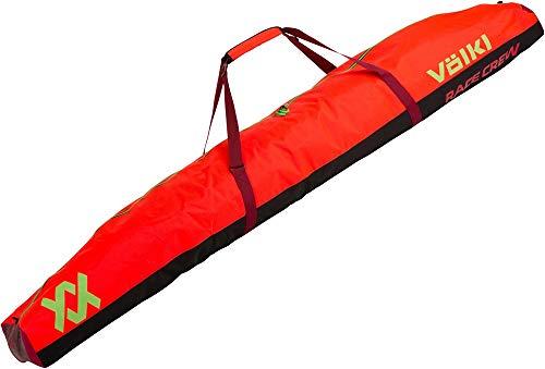 VOELKL Race Double SKI Bag 195CM GS RED Größe 36 Mehrfarbig (-)