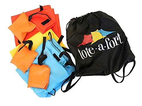 TOTE A FORT Blanket Fort Kit for Kids, The Original, Kids Fort, Portable Blanket Fort
