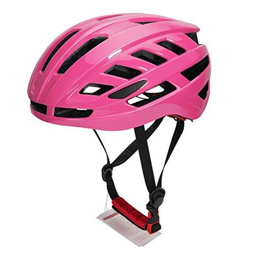 Casco Bicicleta Yuan Ou Casco de Bicicleta Ultraligero MTB Bike Safety Cap Mountain Road Sport Casco de Ciclismo especializado Rosa