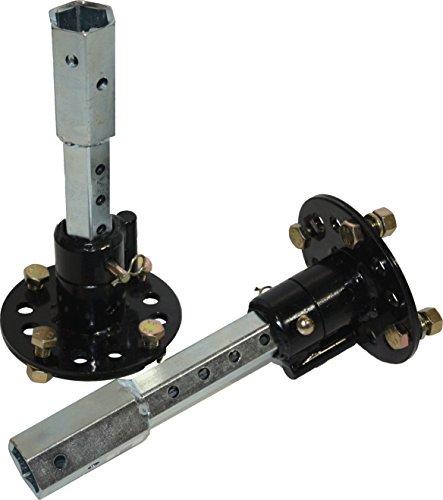 Bricoferr PT00321 Eje de desbloqueo para motoazada (23 mm, extensible)