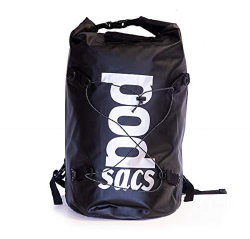 PODSACS Rucksack Waterproof 30L Backpack (Matt Black)