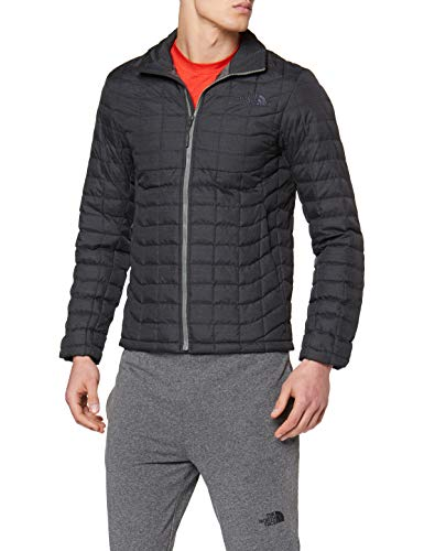 The North Face Herren Thermoball Jacke, Tnf black/Fusebox grey, XL