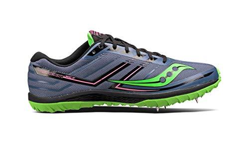Saucony Men#039s Kilkenny XC7 Spike Running Shoe Blue/SLM 9