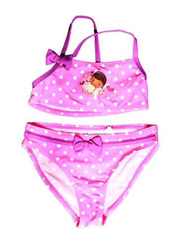 Disney Doc McStuffins Offizieller Mädchen Badeanzug 2-teilig Alter 3/6 Jahre Gr. 4 Jahre, Rose