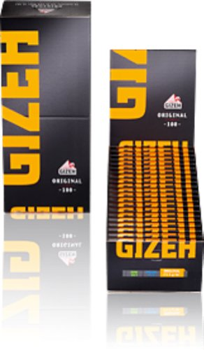 Gizeh Zigarettenpapier, Gelb, 10 cm