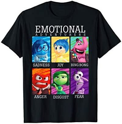 Disney Pixar Inside Out Emotions Yearbook Group T Shirt T Shirt product image