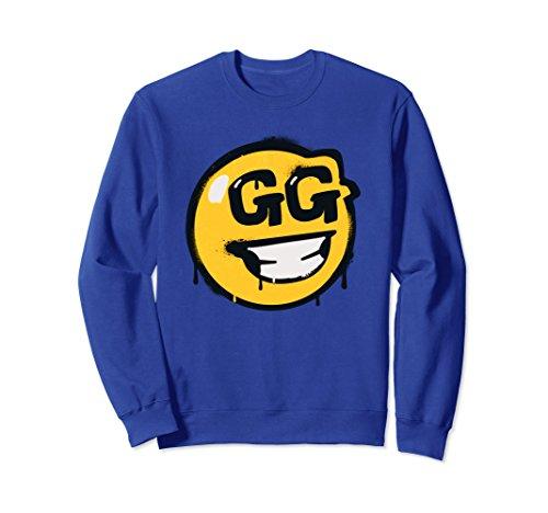 Unisex Fortnite GG Sweatshirt Small Royal Blue