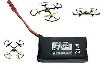 Sky Viper Drone V2400HD V2450FPV V2450GPS Compatible Battery 3.7v 1200mAh High Capasity