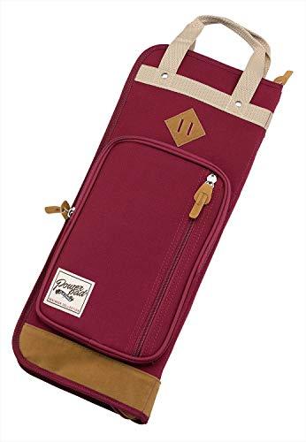 Tama TSB24WR - Custodia Powerpad Designer Collection per bacchette, colore: Rosso vino
