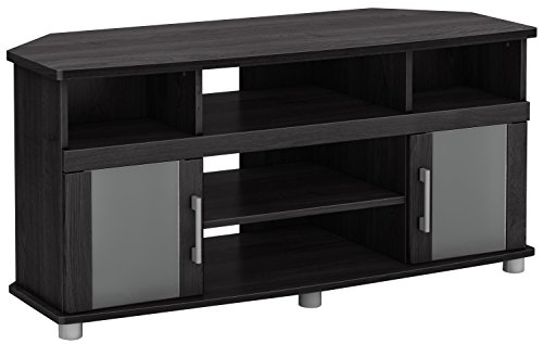 City Life Corner TV Stand - Fits TVs Up to 50'' Wide - Gray Oak - by South Shore