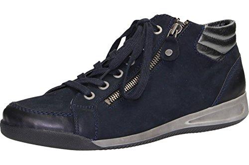 ARA Damen Rom-stf 12-44410 Hohe Sneakers, Blau (blau,gun 09), 41 EU (7 UK)