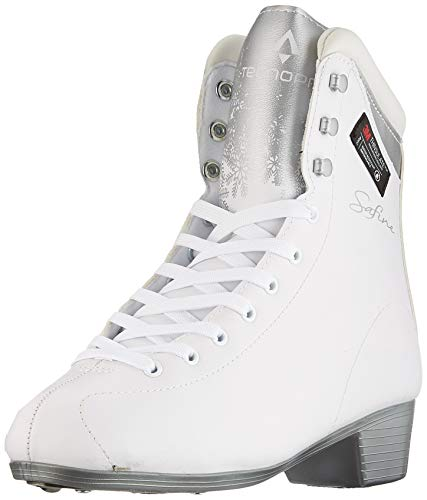 Tecnopro Damen Complet Marina 1.0 Feldhockeyschuhe, Weiß (White/Silver/White 901), 38 EU