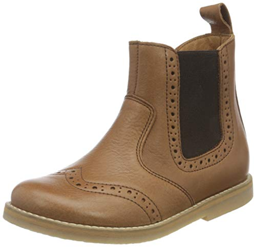 Froddo G3160119 Unisex-Child Chelsea Boot, Cognac, 29 EU