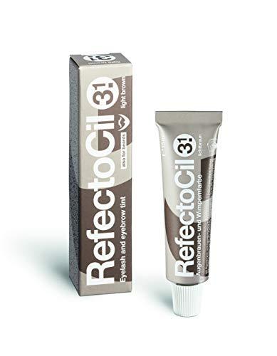 RefectoCil RefectoCil Eyelash & Eyebrow Tint Color, 3.1 light Brown 0.5 oz