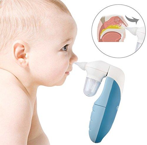 Elektrischer Nasensauger Nasensekretsauger Baby Aspirator Nasen Reiniger #3719 | Bei verstopften Babynäschen - 3