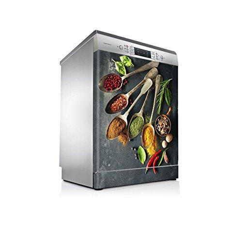 setecientosgramos Vinilo Lavavajillas | Stickers Dishwasher | Pegatina Lavavajillas | Especias