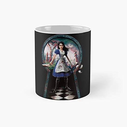 Alice Madness Returns Classic Mug Birth-day Holi-day Gift Drink Home Kitchen
