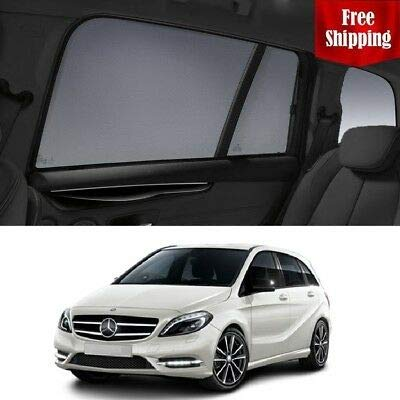 Affordable Magnetic Car Window Shades for Mercedes-Benz B-Class 2015 W246 Magnetic Car Window Sun Sh...