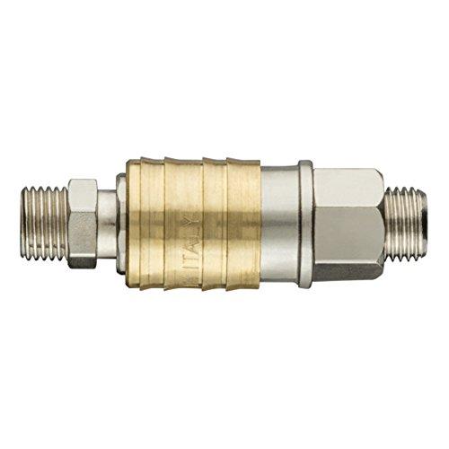 Professionele compressor, snelkoppeling, buitenschroefdraad, persluchtkoppeling, perslucht