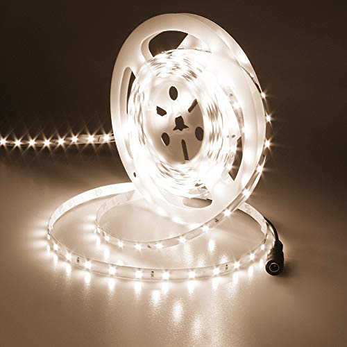 JOYLIT 24V Tiras LED Iluminación Blanco natural 4000K, 5M UL CE Listado 50W Súper Brillo 3700LM, Flexible 300LEDs SMD2835 IP20 No Impermeable Luces LED