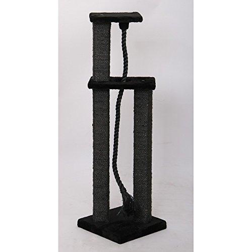 Ferribiella Arbre à Chat 2 Colonne/Corde 32 x 32 x 108 cm
