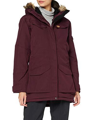 Fjällräven Damen Nuuk Parka W Sport Jacket, Dark Garnet, M