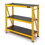 Dewalt 4-Foot Tall, 3-Shelf Industrial Workshop/Garage Storage Rack, Total Capacity: 4,500 lb.