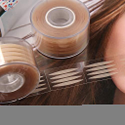 perfeclan 300 Paires Double Paupière Autocollant, Bande Adhésive Dentelle Naturel Invisible pour Femmes Maquillages Respirant