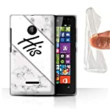Stuff4 Phone Case for Microsoft Lumia 532 You & Me Couples