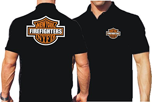 feuer1 Polo noir NY Firefighters