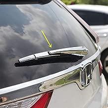 New Chrome Rear Trunk Window Wiper Cover Trim for Honda CR V CR-V 2017-2019