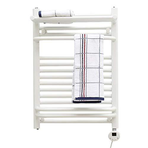 Towel rack Intelligente elektrische handdoekhouder, wit, 400W-600W, intelligente constante temperatuurregeling, verouderingsstop en hitte, kettingzaag, multifunctionele stangen