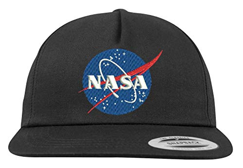 Youth Designz Snapback Cap Kappe Modell NASA - Schwarz