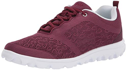 PropÃt womens Travelactiv Sneaker, Cranberry, 6 Narrow US