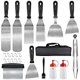 Kit Spatule Barbecue, 23 Pièces Accessoires Barbecue...