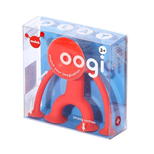 OOGI Junior, elastische Stretch-Figur mit Saugnäpfen, aus Silikon, kreativer Spielspaß für Kinder ab 3 Jahren, Motorikspielzeug